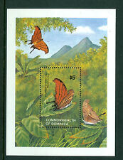 DOMINICA 1982, Butterflies, Nature, Dagger Tail MNH Sheet 135
