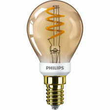 Philips Classic LED Lampe 3,5W E14 extra warmweiss P45 gold Vintage  dimmbar ...