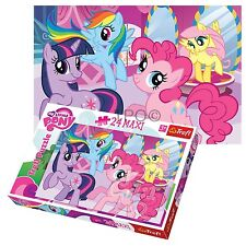Trefl 24 Piece Maxi Girls My Little Pony Friendship Large Pieces Jigsaw Puzzle