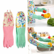 Durable Waterproof Household Glove Dishwashing Cleaning Rubber