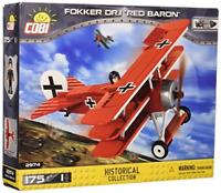 "COBI Historical Collection Fokker DR.1 ""Red Baron"" Plane"