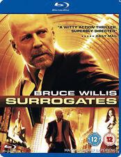 SURROGATES (2010 Bruce Willis) - BLU-RAY - REGION B UK