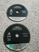 RESIDENT EVIL 2 RARE PROMO ONLY DISCS *PS1 PAL*