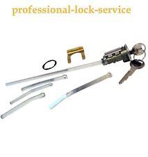 Plymouth 1966-1972 Trunk Boot Key Lock Cylinder Tumbler Barrel 2 Keys