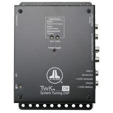 JL Audio TwK-D8 Digital Signal Processor w/ Single Digital Input 8 Analog Output
