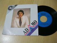 """7"""" Single Adamo Es geht eine Träne auf Reisen Vinyl Amiga DDR Quartett 5 56 033"""