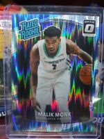 MALIK MONK 2017-18 Panini Donruss OPTIC RatedRookie #190 SHOCK Charlotte Hornets