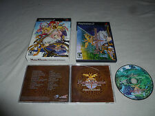 BOXED PLAYSTATION 2 GAME MANA KHEMIA ALCHEMISTS OF AL-REVIS SOUNDTRACK NIS RPG >