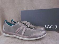 ECCO Biom Womens Bluma Race Moon Rock Low Cut Leather Shoes US 9 - 9.5 EU 40 NWB