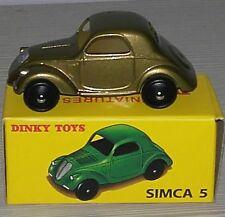 DINKY TOYS - SIMCA 5 - NR 35A - 2017 -  DEAGOSTINI MATTEL -   REPLICA