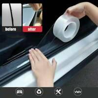 Clear Sill Scuff Car Door Plate Sticker Bumper Body Anti-Scratch Strip Protector