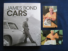IAN FLEMING - JAMES BOND CARS - SIGNED by JAMES BOND