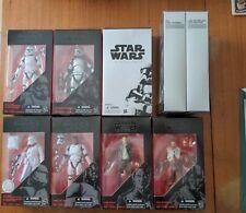 Star Wars Black Series Sequel Trilogy Figures Lot + SDCC Exclusives
