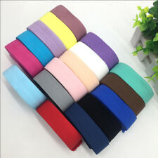 Accessories  Polyester Ribbon Garment Accessory Thick Plain Weave Elastic Bands
