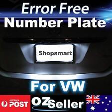 2x Canbus Number Plate Light Error Free LED Bulbs For Volkswagen Passat CC 08-11