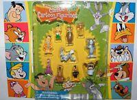 Hanna Barbera Cartoon Figure Set of 10 Tom, Jerry, Scooby-Doo, Bugs Bunny