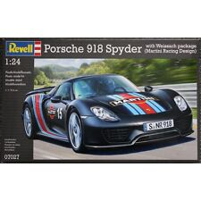 KIT REVELL 1:24 AUTO PORSCHE 918 SPYDER MARTINI WITH WEISSACH PACKAGE  ART 07027