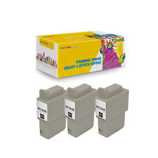 Compatible 3Pack BCI-21B BCI-24B Black Ink Cartridge for Canon BJCAN-4000