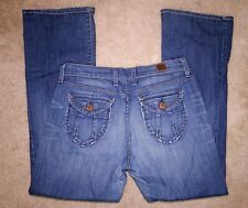 LUCKY BRAND Sweet N Low Denim Jeans size 8 29 Stretch Pants Flare Leg 8/29 Nice!