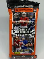 2019 Panini Contenders Football Fat Hanger Rack Pack 22 cards Factory Sealed