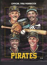 VINTAGE BASEBALL YEARBOOK- 1986 PITTSBURGH PIRATES- NEAR MINT