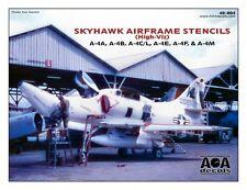AOA decals 1/48 SKYHAWK AIRFRAME STENCILS High Viz A-4B, A-4C, A-4E, A-4F, A-4M