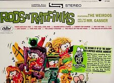 ED BIG DADDY ROTH RAT FINK RODS N' RATFINKS LP BLACK FRIDAY RSD LIMITED EDITION