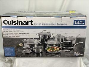 Cuisinart 14pc Stainless Steel Cookware Set