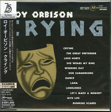 ROY ORBISON-CRYING-JAPAN MINI LP CD BONUS TRACK Ltd/Ed D99