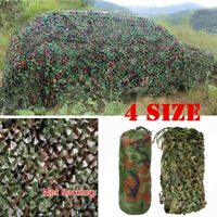 Desert Camouflage Woodland Military Net Camo Netting Hunting Camping Tent N2