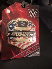 WWE United States Champion Kids Child Size Oversize Belt Buckle Plastic