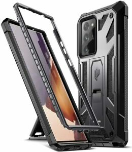 Poetic For Galaxy Note 20 Ultra Shockproof Case,Full Coverage Cover Black