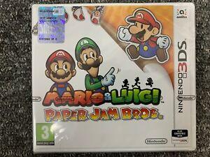 Mario & Luigi Paper Jam Bros - Nintendo 3DS Brand New & Factory Sealed UK