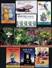 Korea Süd 1995 (20) Verschiedene Markenhefte Different Stamp Booklets MNH