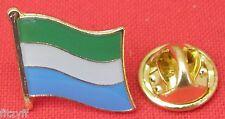 Sierra Leone Country Flag Lapel Hat Cap Tie Pin Badge Brooch Republic