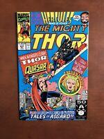 Thor #437 (1991) 9.2 NM Marvel Key Issue Comic Book Quasar App High Grade