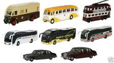 Voitures, camions et fourgons miniatures argentés bus