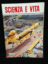 SCIENZA E VITA NOVEMBRE 1952  - ELICOTTERO GIGANTE A FUSOLIERA SMONTABILE-