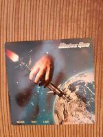 STATUS QUO NEVER TOO LATE Vinyl LP  Brilliant Vinyl condition