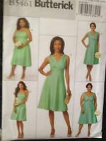 Butterick Sewing Pattern 5461 Ladies Misses Dress Size 8-16 New Uncut