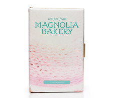 $328 Kate Spade NY Magnolia Bakery Recipe Book Clutch Bag in Multi Pink NWT