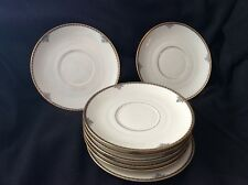 """Eight Berkeley Square China """"Bullion Cup"""" Underplates, VG to EXC Condition"""