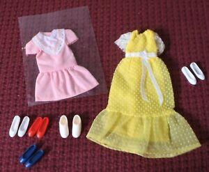 Barbie's sister SKIPPER Dresses Shoes Used Loose Lot