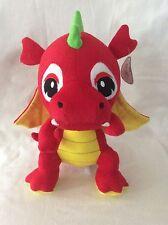Caravan Softoys Red/Yellow Baby Dragon Plush Stuffed Animal