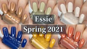 "Essie Nail Polish ""Spring 2021 Limited Edition"" Full Collection 6 Bottles"