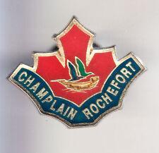 RARE PINS PIN'S .. TOURISME CHAMPLAIN CANADA ROCHEFORT CHARENTE MARITIME 17 ~CJ