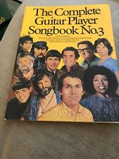 The Complete Guitar Player Songbook No.3 Sheet Music Book 50 Songs