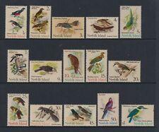 Norfolk Island - 1970,1c - $1 Oiseaux Complet Ensemble - MNH - Sg 103/17