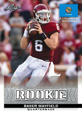 25 ct lot 2018 Leaf Excl Draft BAKER MAYFIELD Rookies gemmint Cleveland Browns