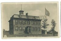 RPPC Mayfield Union School MAYFIELD NY Fulton County Real Photo Postcard